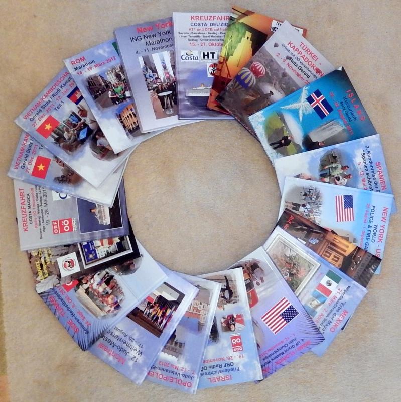 Alle 22 Fotobücher im Überblick