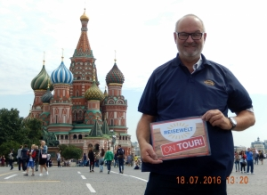 2016 07 18 Moskau Basilius Kathedrale Reisewelt on Tour