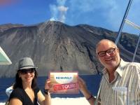 2017 06 12 Italien Insel Stromboli Vulkan RW on Tour