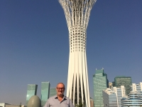 2017 08 26 Astana Bayterek Tower Reisewelt on Tour
