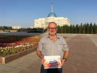 2017 08 26 Astana Präsidentenpalast Reisewelt on Tour