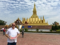 2017 11 08 Vientiane Stupa Pha That Luang Reisewelt on Tour