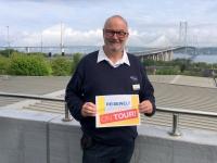 2018 05 13 Neue Autobahnbrücke Forth Road Schottland