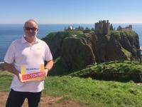 2018 05 14 Dunnator Castle Reisewelt on Tour