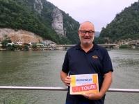 2018 07 31 Eisernes Tor mit Steingesicht Zebalus Reisewelt on Tour 1