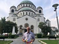 2018 08 01 Belgrad Kirche Hl Sava 1