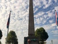 2018 08 23 Luxemburg Denkmal die goldene Frau