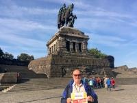 2018 08 26 Koblenz Deutsches Eck mit Kaiser Wilhelm Denkmal Reisewelt on Tour