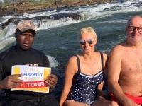 2018 10 31 Sambia Victoria Fälle Devils Pool Reisewelt on Tour