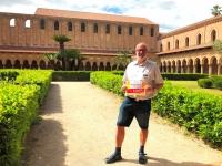 2019 05 29 Monreale Sizilien Kreuzgang Reisewelt on Tour