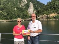 2019 07 22 Eisernes Tor Steinfelsen Zebalus Reisewelt on Tour 2