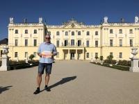2019 08 25 Bialystok Branicki Palast Gartenseite Reisewelt on Tour