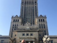 2019 08 26 Warschau mit Kulturpalast Reisewelt on Tour