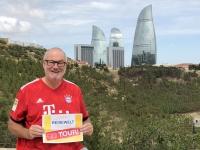 2019 09 09 Baku Flame Towers Reisewelt on Tours