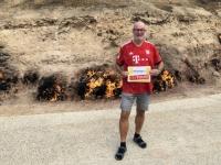 2019 09 10 Brennender Berg Yanar Dag Reisewelt on Tour
