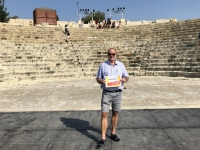 2019 11 10 Kourion römisches Theater Reisewelt on Tour