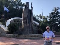 2019 11 11 Berg Throni Denkmal Erzbischof Makarios Reisewelt on Tour