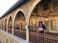 2019 11 11 Kloster Kykkos Arkade Reisewelt on Tour