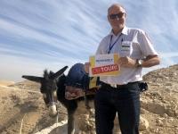 2019 11 25 Wadi Kelt mit Freund Reisewelt on Tour