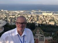 2019 11 28 Haifa mit Blick auf die Bahai Gärten Reisewelt on Tour