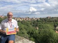 2020 08 24 Rothenburg ob der Tauber vom Burggarten Reisewelt on Tour