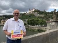 2020 08 24 Würzburg Marienberg von alter Mainbrücke Reisewelt on Tour