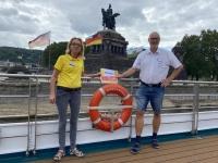2021 08 19 Koblenz Kaiser Wilhelm Denkmal  Deutschen Eck