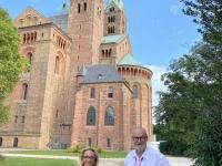2021 08 20 Speyer Reisewelt on Tour mit Kollegin Dagmar