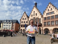 2021 08 21 Frankfurt Römer Reisewelt on Tour