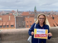 2021 08 24 Nürnberg Blick von Burg Reisewelt on Tour Dagmar