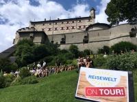 2017 07 08 Österreich Burg Hohenwerfen Greifvogelschau