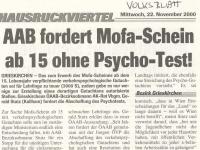 2000 11 22 Volksblatt