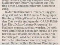 2001 06 18 OÖ Nachrichten