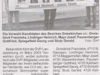 2003 03 31 Grieskirchner Anzeiger