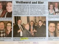 2007 10 31 NEWS Weisswurstempfang Raika Grieskirchen