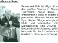2015 05 13 Gemeindezeitung Neumarkt Ehrung fuer 20 Jahre Obmann