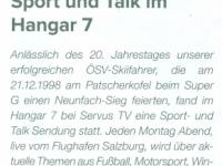 2019 05 22 ASVOÖ Informer Sport und Talk Hangar 7