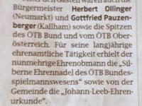 2020 10 13 OÖN Wels JHV NTV Obmannwechsel