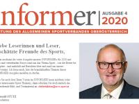 2020 12 31 ASVOÖ Informer 2020 Ausgabe 4 Chefredakteur Vorwort Nr 2
