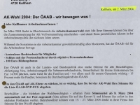 2004 03 02 AK Wahl 2004 Bürgermeisterbrief Kallham