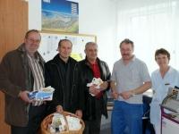 2009 01 26 AK_Wahl Betriebsbesuch Krankenhaus Grieskirchen mit Vizepräs Feilmair 1