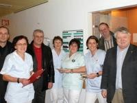 2009 01 26 AK_Wahl Betriebsbesuch Krankenhaus Grieskirchen mit Vizepräs Feilmair