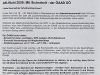 2009 03 01 AK Wahl 2009 Bürgermeisterbrief Neumarkt