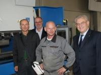 2010 09 23 AK_Firmenbesuch mit Vizepraes Feilmair Weibern