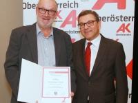 2016 12 01 Empfang Laienrichter der AK OÖ im Jägermayrhof mit Dir Molterer