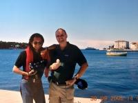 2005 09 30 ASVOÖ Vorstandsklausur Porec mit Freund Willi