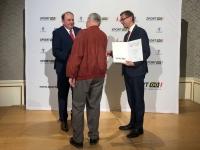 2019 06 04 Landessportehrenzeichen Bronze MR Dr Sepp Lehner Übergabe 1