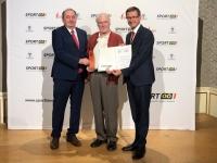 2019 06 04 Landessportehrenzeichen Bronze MR Dr Sepp Lehner