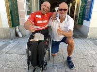 2021 06 03 Paracycling EM in Schwanenstadt Gratulation zum Europameister