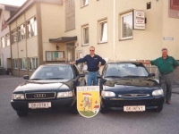 1995 06 Audi 80: ÖTB 1 und NTV 1 von Hans Gföllner
